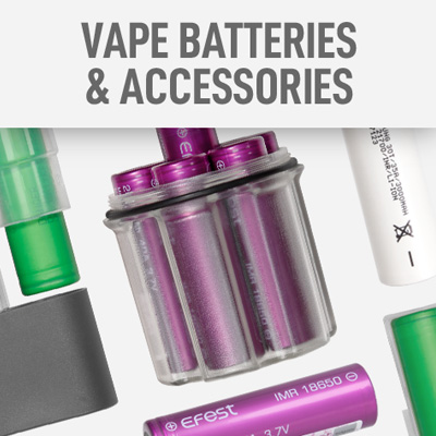 Vape Batteries & Accessories
