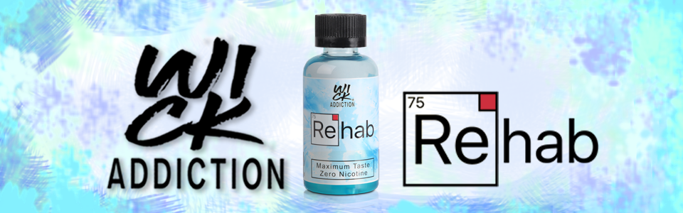 ReHab E-Liquid by Wick Addiction