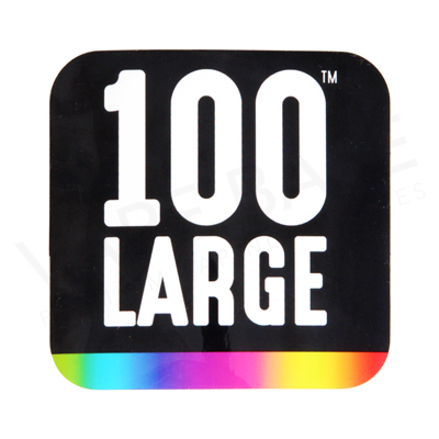 100 Large Stickers