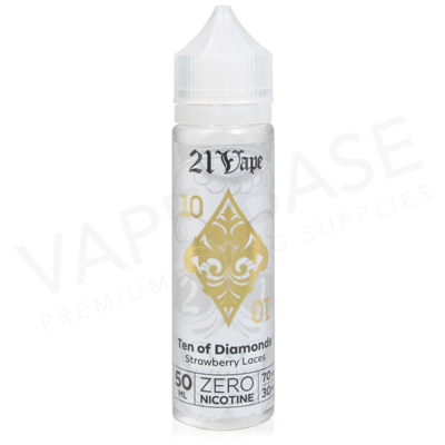 10 Of Diamonds Shortfill E-Liquid by Red Liquid 21 Vape