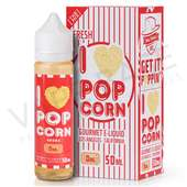 I Love Popcorn E-Liquid by Mad Hatter Juice 50ml
