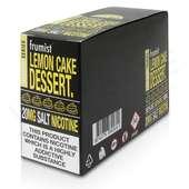 Lemon Cake Nic Salt E-Liquid by Frumist Desserts