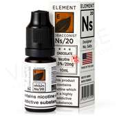 NS20 Chocolate Tobacco E-Liquid By Element Tobacconist