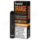 Orange Frumist Disposable Device