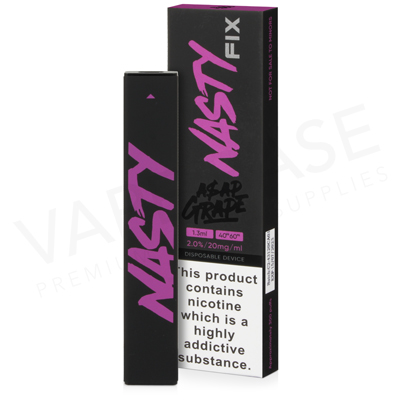 ASAP Grape Disposable Pod Device by Nasty Fix