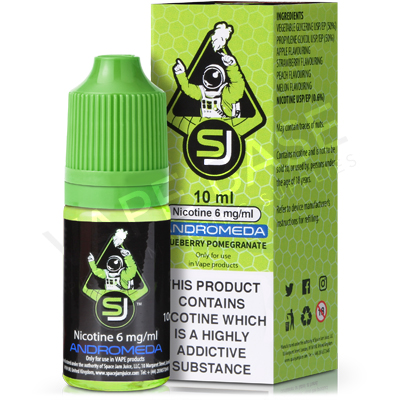 Andromeda E-Liquid by Space Jam