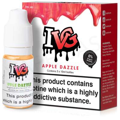 Apple Dazzle E-Liquid by IVG