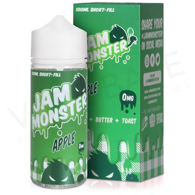 Apple E-Liquid by Jam Monster 100ml