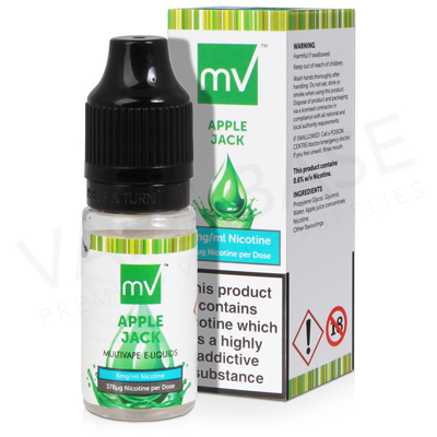 Apple Jack E-Liquid by Multivape