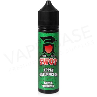Apple Watermelon E-Liquid by SWOT 50ml