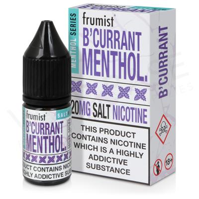 B'Currant Nic Salt E-Liquid by Frumist Menthol