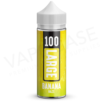 Banana Haze EU Unboxed E-Liquid by 100 Large