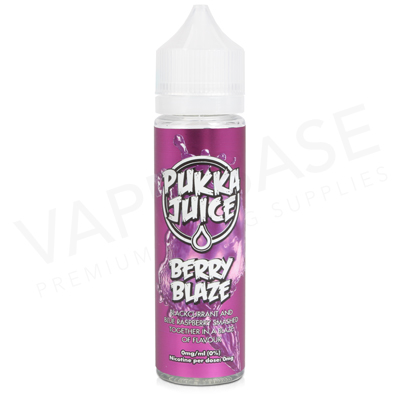 Berry Blaze Shortfill E-Liquid by Pukka Juice 50ml