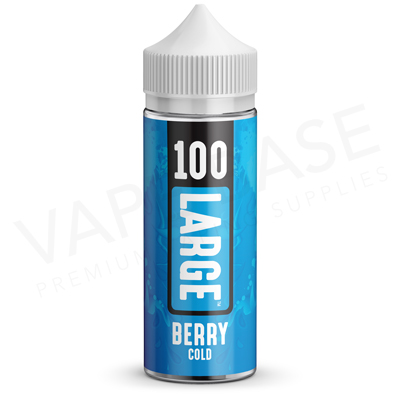 Berry Cold EU Unboxed E-Liquid by 100 Large