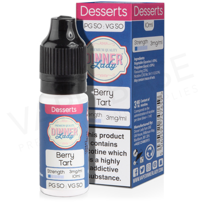 Berry Tart E-Liquid by Dinner Lady Desserts 50/50