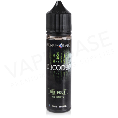 Big Foot E-Liquid by Decoded 50ml