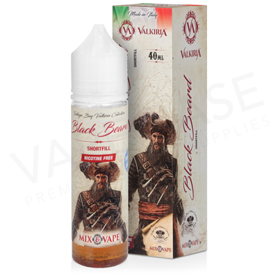 Black Beard E-Liquid by Valkiria 40ml