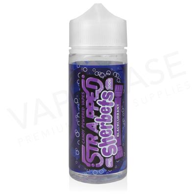 Blackcurrant Sherbet Shortfill E-Liquid by Strapped Sherbets 100ml