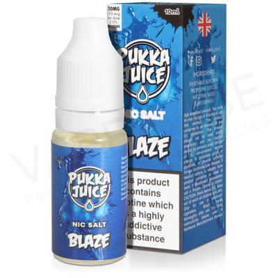 Blaze Nic Salt E-Liquid by Pukka Juice