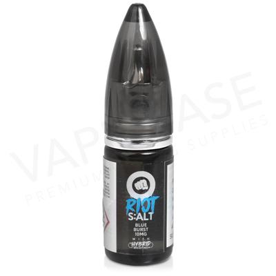 Blue Burst Hybrid Salt E-Liquid by Riot Squad