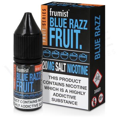 Blue Razz Nic Salt E-Liquid by Frumist Fruits