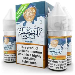 Blueberry Crumb E-Liquid by MEGA
