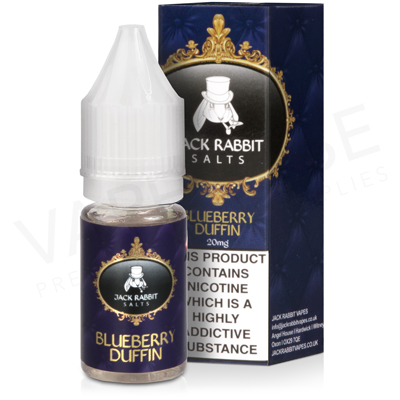 Blueberry Duffin E-Liquid by Jack Rabbit Salts