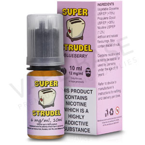 Blueberry E-Liquid by Super Strudel