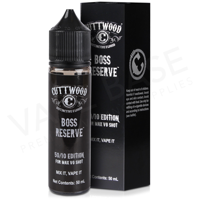 Boss Reserve E-Liquid by Cuttwood 50ml