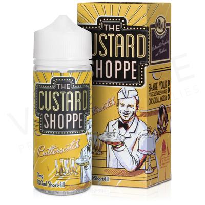 Butterscotch E-Liquid by The Custard Shoppe 100ml