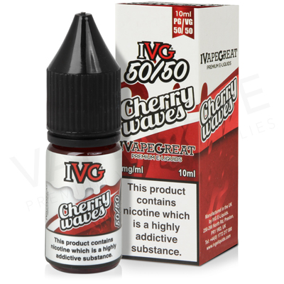 Cherry Waves E-Liquid by IVG 50/50