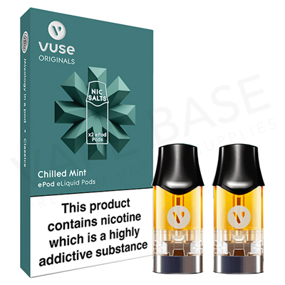 Chilled Mint Nic Salt ePod by Vuse