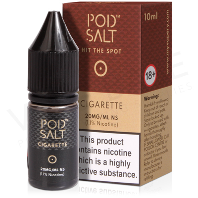 Cigarette Nicotine Salt E-Liquid by Pod Salt