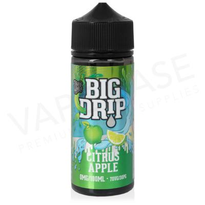 Citrus Apple Shortfill E-Liquid by Big Drip 100ml