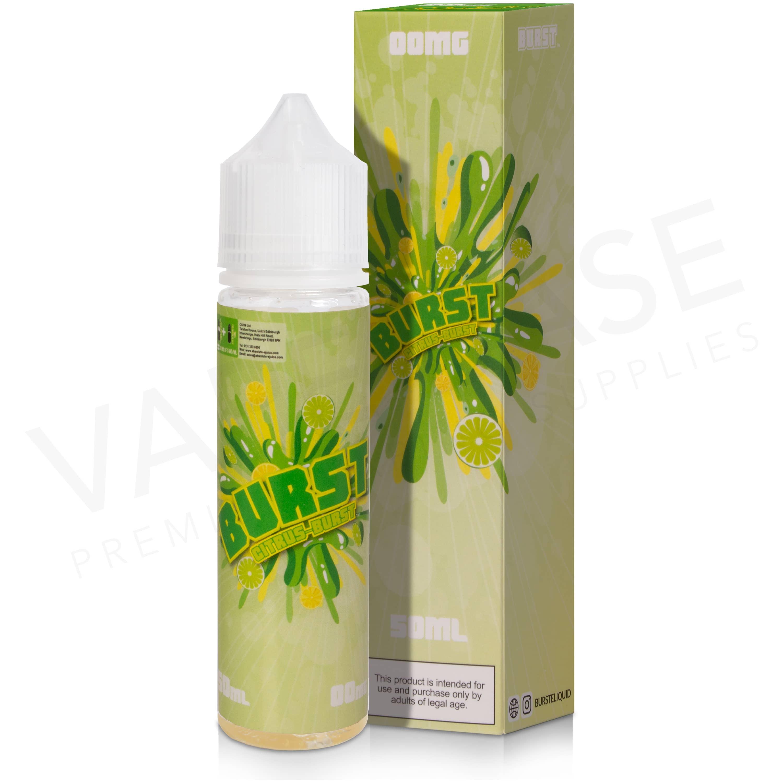 Citrus Burst E-Liquid by Burst 50ml