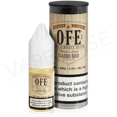 Classic Gold E-Liquid by OFE