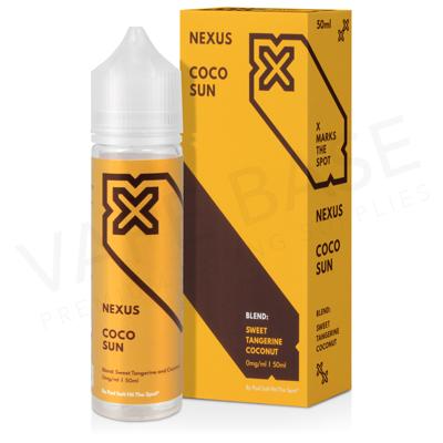 Coco Sun Shortfill E-Liquid by Pod Salt Nexus 50ml