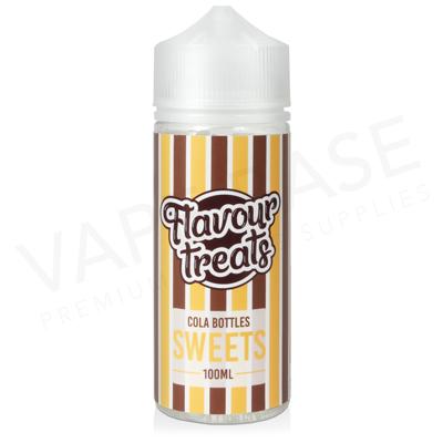 Cola Bottles Shortfill E-Liquid by Flavour Treats Sweets 100ml