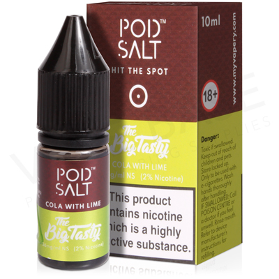 Cola With Lime Nicotine Salt E-Liquid by Pod Salt Fusion