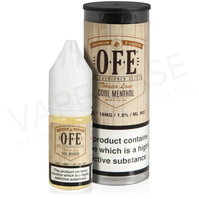 Cool Menthol E-Liquid by OFE