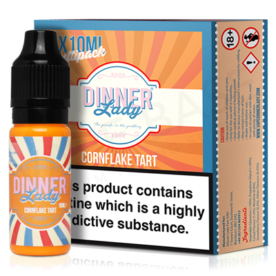 Cornflake Tart E-Liquid by Dinner Lady