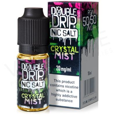 Crystal Mist Nic Salt E-Liquid by Double Drip