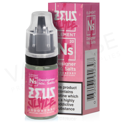 Dodoberry Nic Salt E-Liquid by Zeus Juice