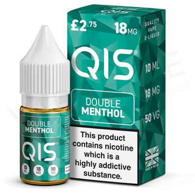 Double Menthol E-Liquid by QIS 50/50