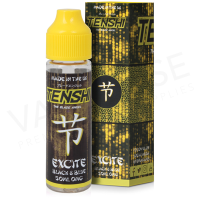 Excite Blackberry & Blueberry Shortfill E-Liquid by Tenshi 50ml