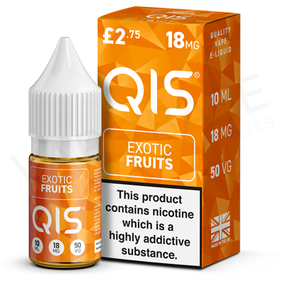 Exotic Fruits E-Liquid by QIS 50/50