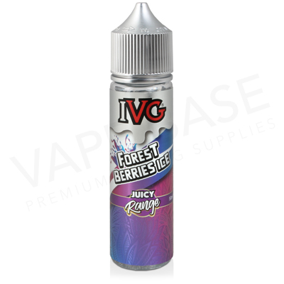 Forest Berries Ice Shortfill E-Liquid by IVG Juicy 50ml