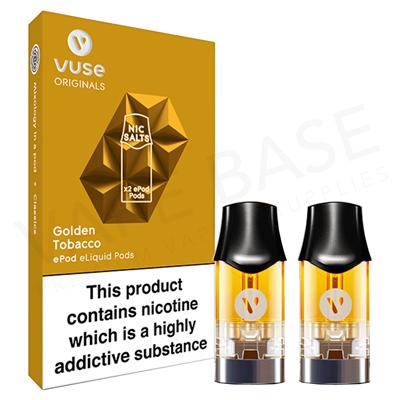 Golden Tobacco Nic Salt ePod by Vuse
