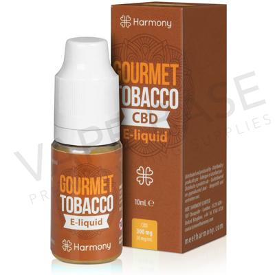 Gourmet Tobacco CBD E-Liquid by Harmony