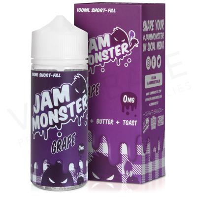 Grape E-Liquid by Jam Monster 100ml